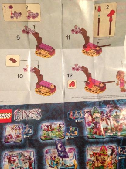 Lego, Instructions, Azari's Magic Fire