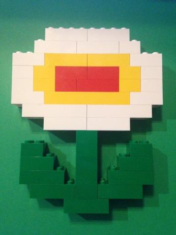 Lego, fire flower, Mario