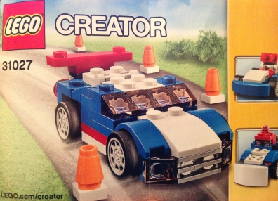 Lego, creator, police car, 31027