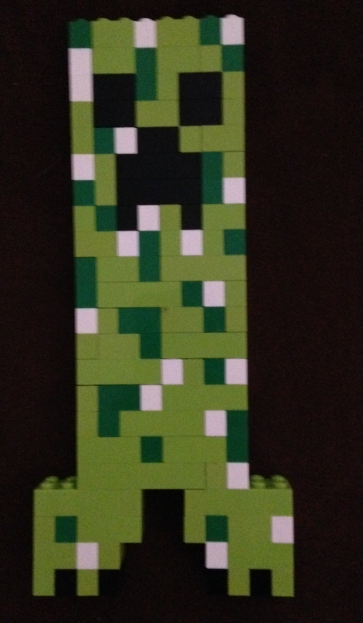 Lego, Minecraft, creeper