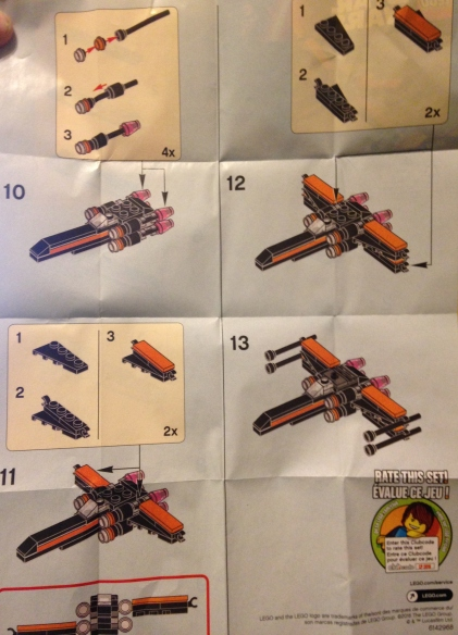 Lego, Star Wars, x-wing