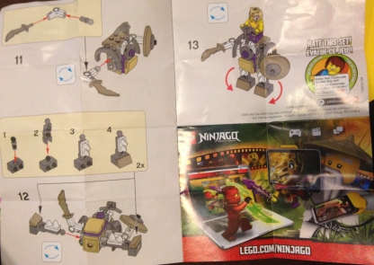 Lego, Ninjago, Battle Mech