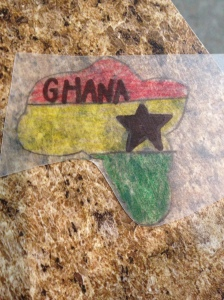 Ghana, Girl Scouts, Thinking Day, Swap