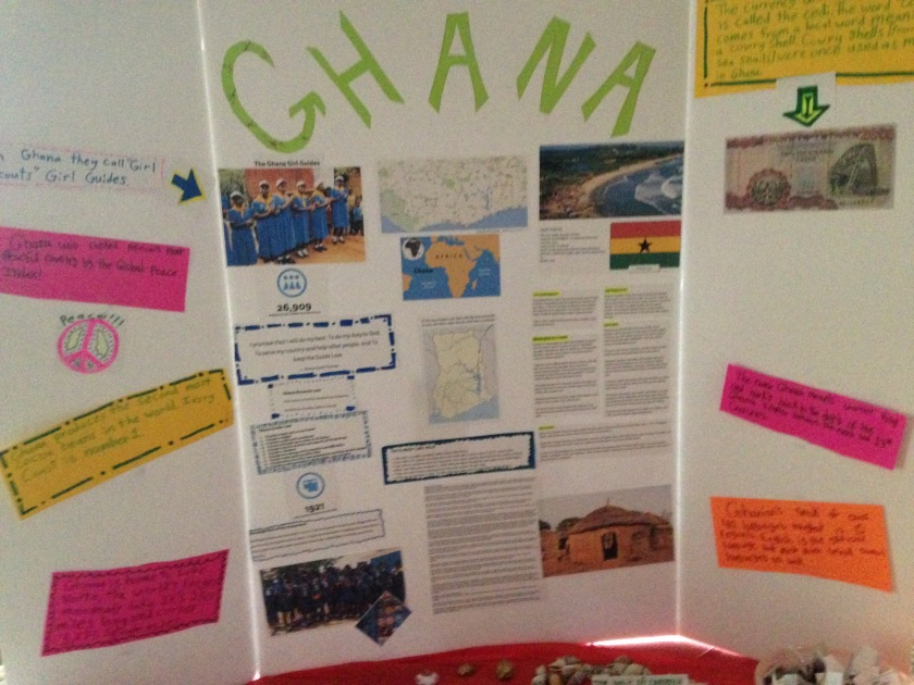Girl Scouts, Ghana, Thinking Day