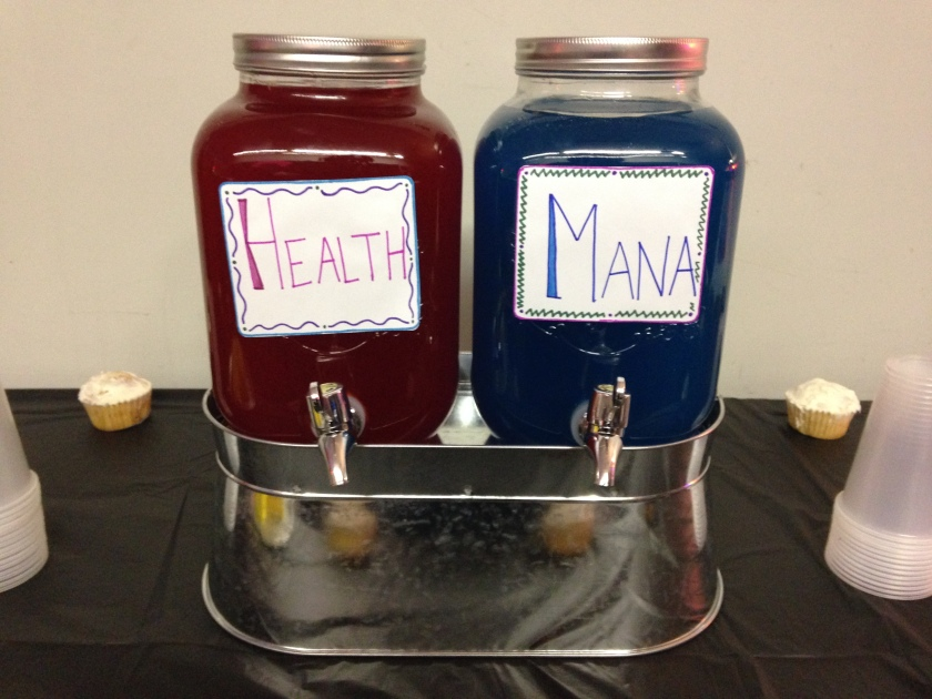Health & Mana Juice, gaming birthday