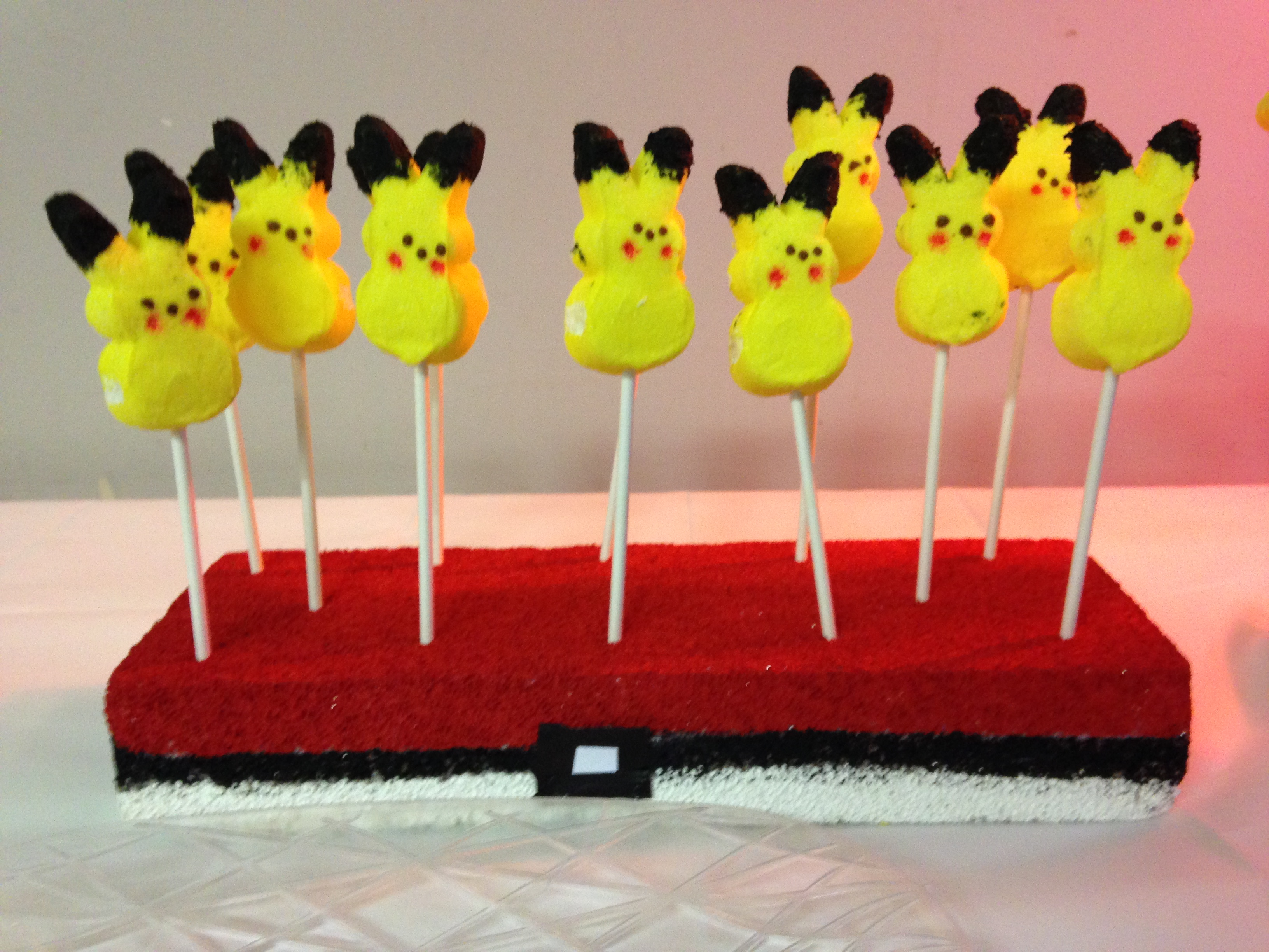 Pokemon, Pikachu, Peeps, Birthday, Gaming