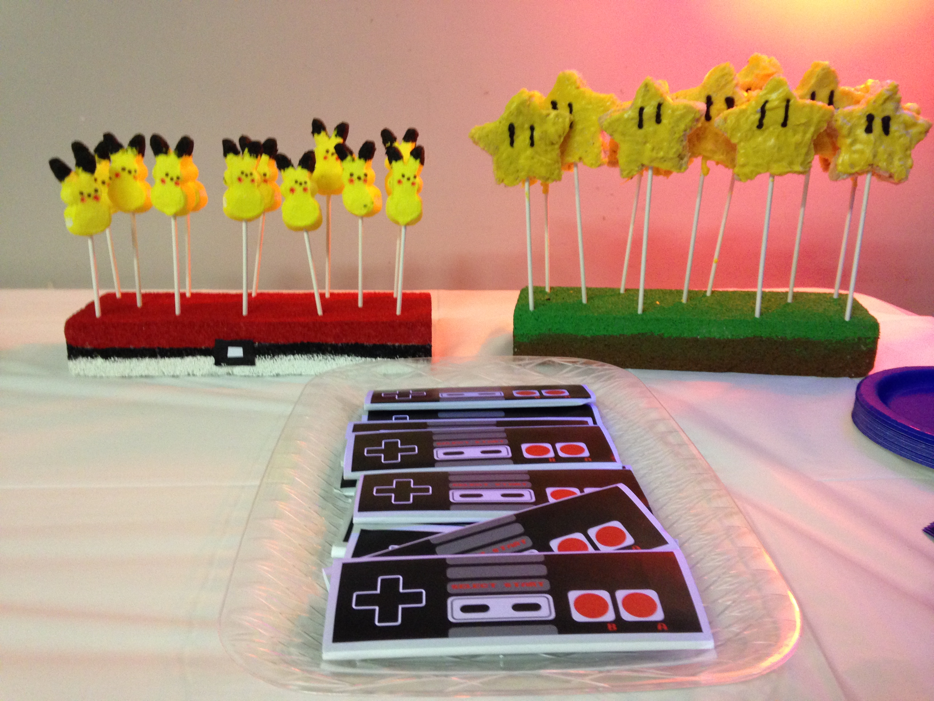 gaming birthday party