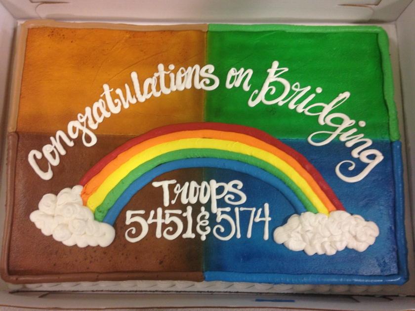 Bridging, Girl Scout, Cake, Mult-Level