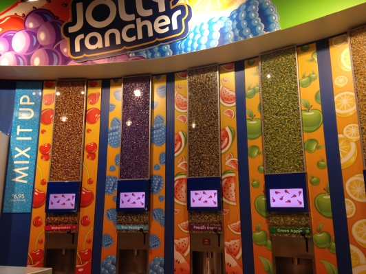 Jolly Rancher, Hershey's Chocolate World, Las Vegas