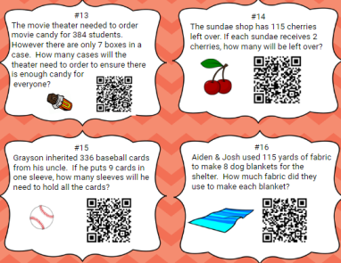Teachers pay teachers, QR Code, Long Division, 5th Grade
