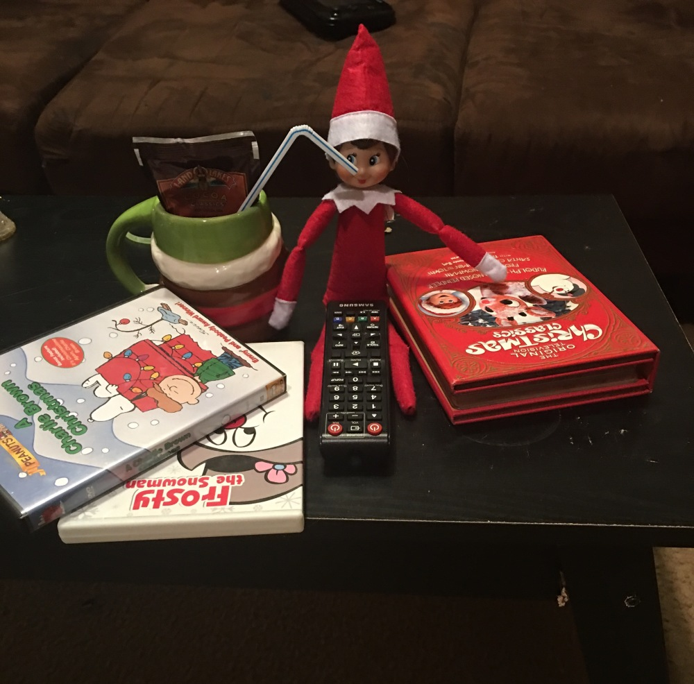 Elf on a shelf, Christmas