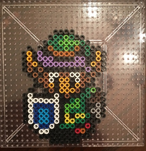 Link to the Past Link- Perler Bead Pattern
