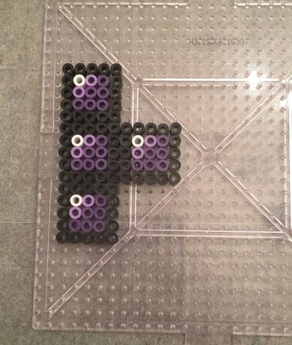 perler, bead, tetris, gaming, craft, kids