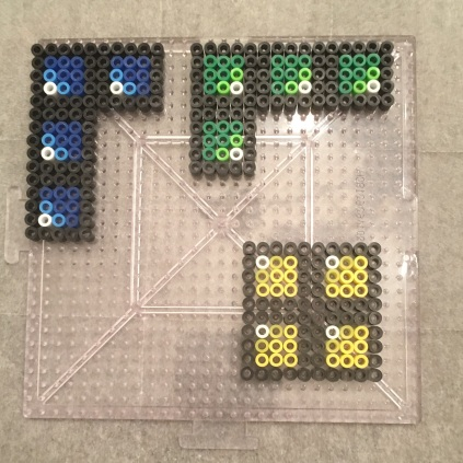 Perler Bead Tetris Bricks Patterns