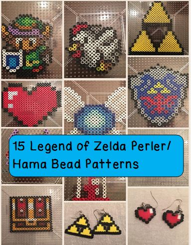 Legend of Zelda Perler Patterns