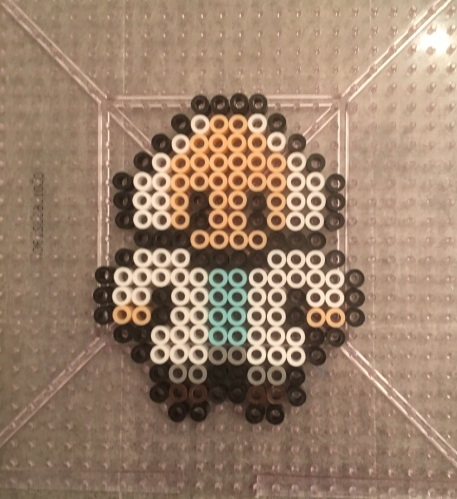 D Perler Beads, Hama, Back to the Future