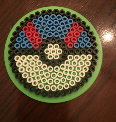 Perler, beads, Pokeball, Great Ball, Pokemon