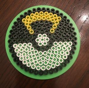 Perler, beads, Pokeball, Ultra Ball, Pokemon