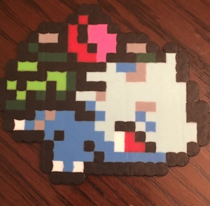 Ivysaur Pokemon Perler Bead Pattern