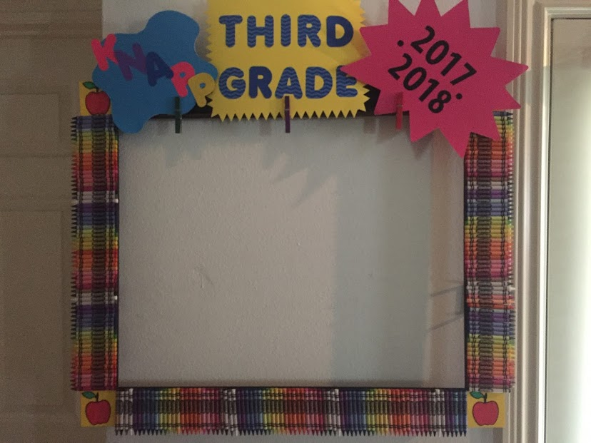 3rd Grade Back to School Parent student Frame!