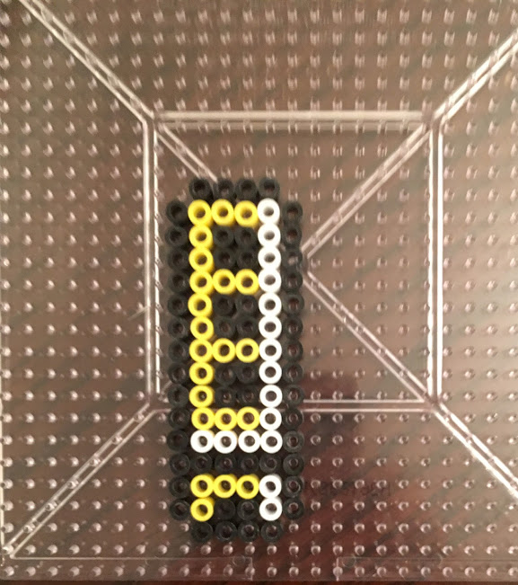 Super Mario 3 Whistle Perler Hama Bead Pattern