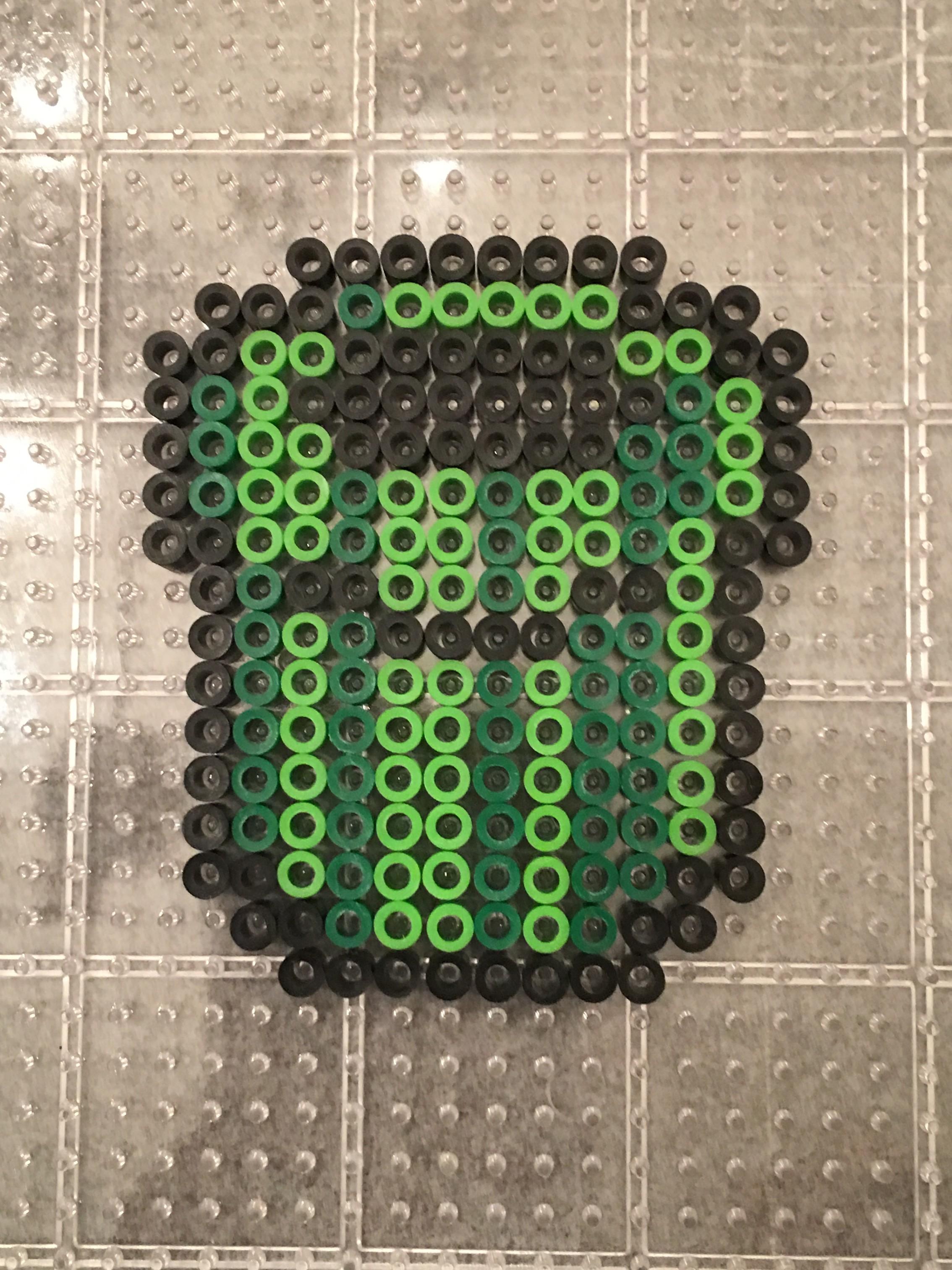 Super Mario Pipe- Perler Beads Hama
