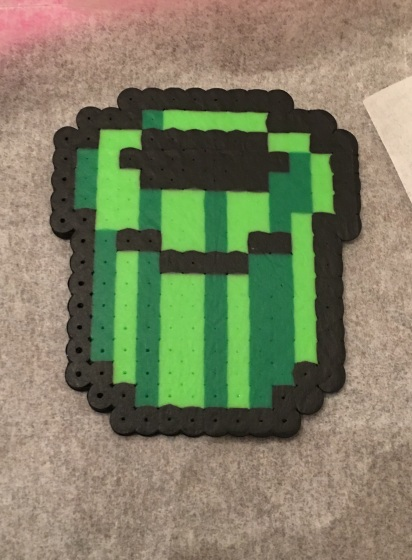 Super Mario Pipe- Perler Beads Hama