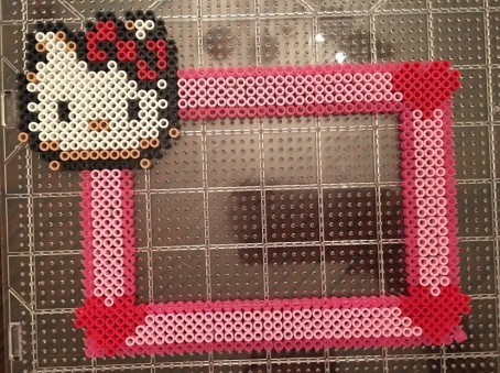 Hello Kitty Perler / Hama Bead Pattern