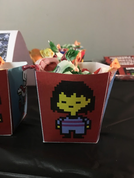 Undertale Birthday Party Candy Bowls