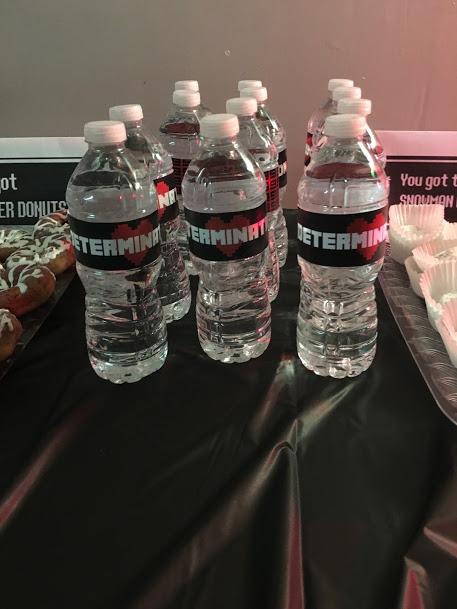 Undertale Birthday Party Water Bottle Labels