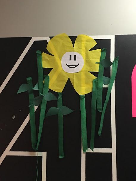 Undertale Birthday Party Flower