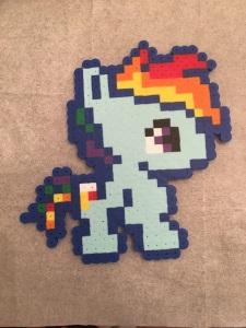 Rainbow Dash- My Little Pony Perler/ Hama Bead Pattern