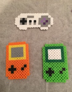 Gaming Controllers Perler Hama Beads Pattern