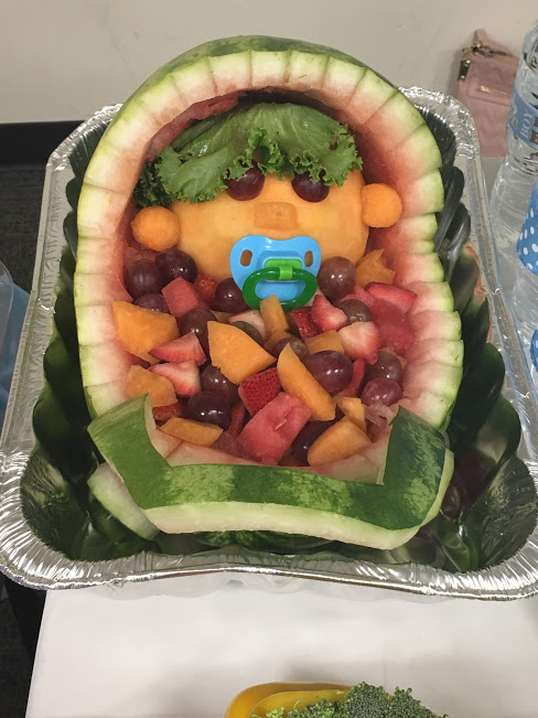 Baby Boy Shower- Part 2, Fruit, Vegetables and Water – For Parents ...