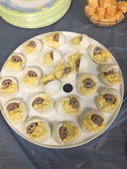 Deviled Eggs Babies- Baby Shower
