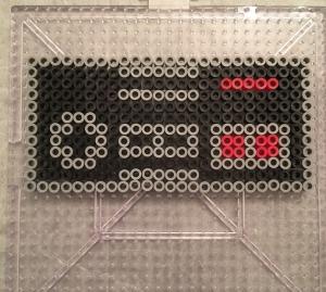 Nintendo Controller Perler Hama Beads Pattern