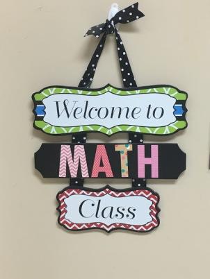 Classroom Decoration Math