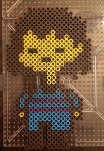 Fisk Undertale Party Decoration Perler Hama Beads