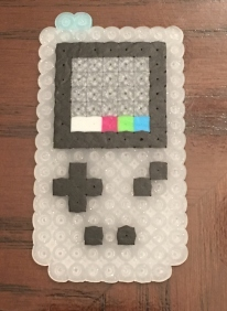 Luigi's Haunted Mansion- Gamboy Horror Perler/Hama Beads pattern