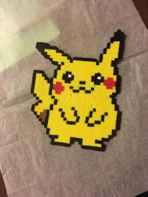 pokemon s pikachu perler bead project for parents teachers scout