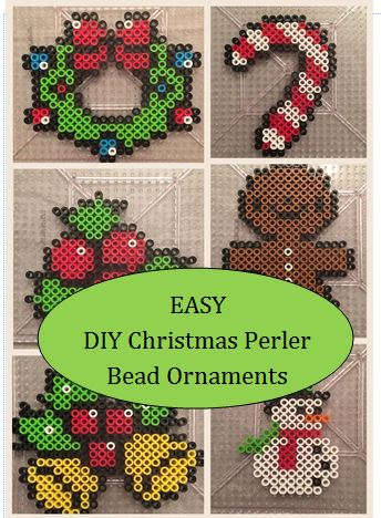 Christmas Ornament Perler Bead Patterns DIY