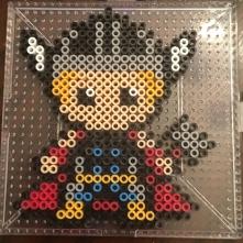 Thor Mini Perler beads
