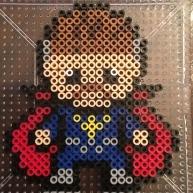 Dr Strange Mini Perler beads