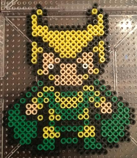 Loki Mini Perler beads