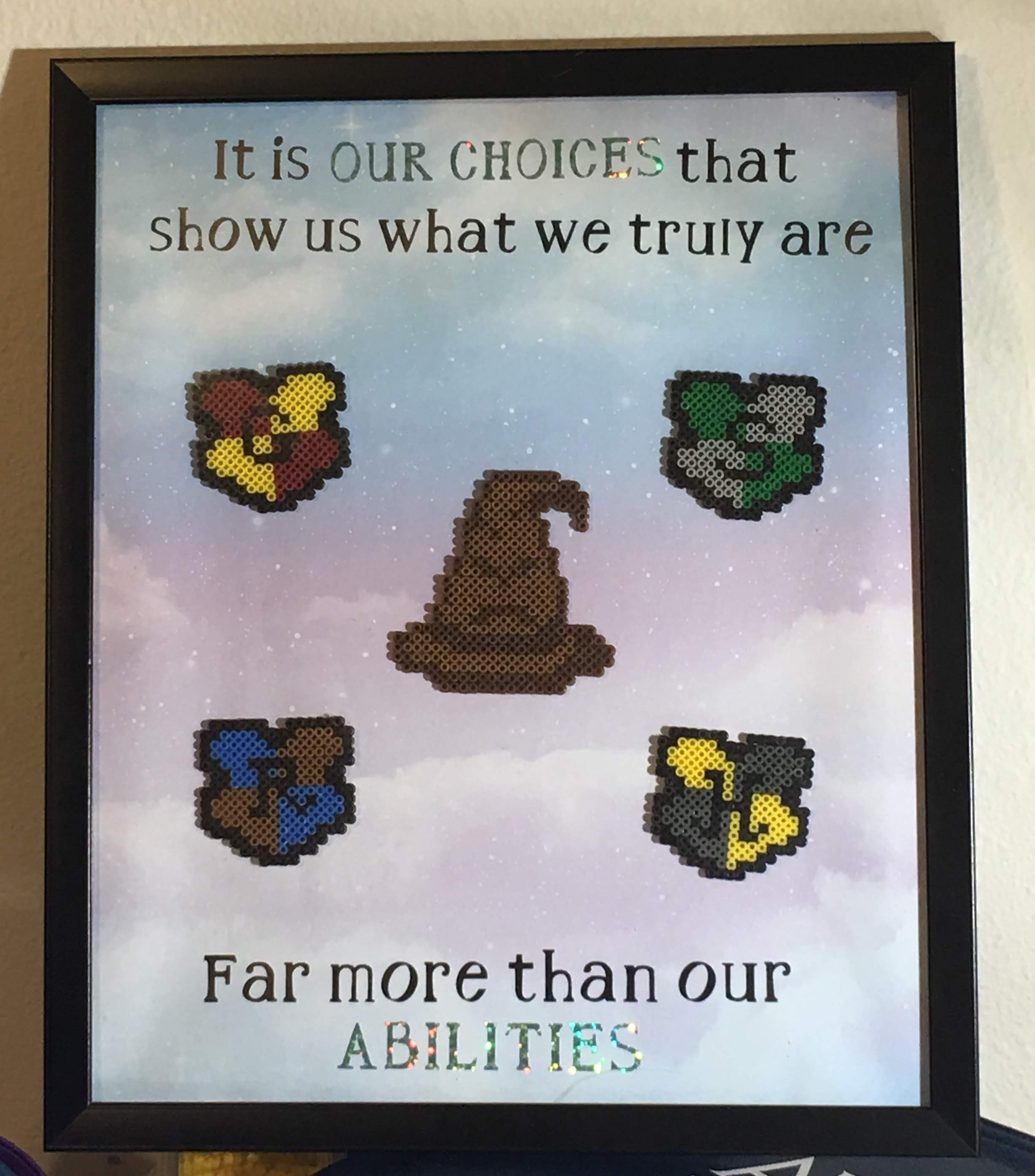 Harry Potter Mini Bead Fun Sorting Hat Quote – For Parents